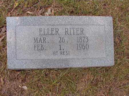 RITER, ELLER - Calhoun County, Arkansas | ELLER RITER - Arkansas Gravestone Photos