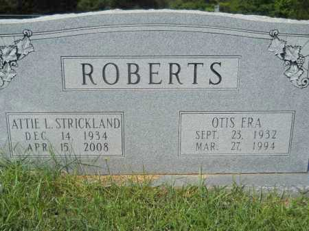 ROBERTS, OTIS ERA - Calhoun County, Arkansas | OTIS ERA ROBERTS - Arkansas Gravestone Photos