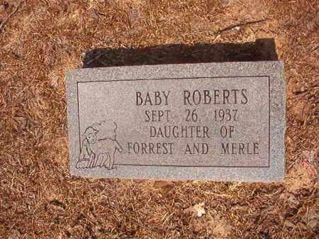 ROBERTS, BABY - Calhoun County, Arkansas | BABY ROBERTS - Arkansas Gravestone Photos