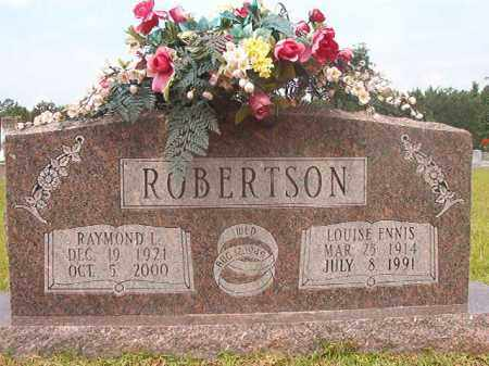 ROBERTSON, LOUISE - Calhoun County, Arkansas | LOUISE ROBERTSON - Arkansas Gravestone Photos