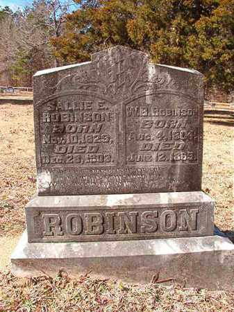 ROBINSON, W B - Calhoun County, Arkansas | W B ROBINSON - Arkansas Gravestone Photos