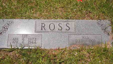ROSS, WILL - Calhoun County, Arkansas | WILL ROSS - Arkansas Gravestone Photos