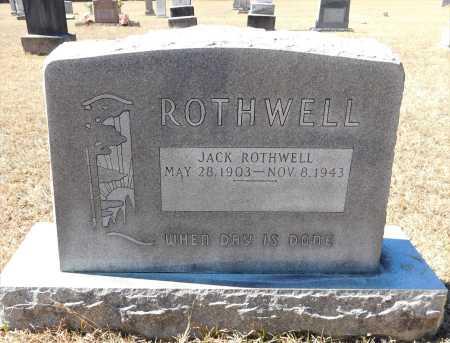 ROTHWELL, JACK - Calhoun County, Arkansas | JACK ROTHWELL - Arkansas Gravestone Photos