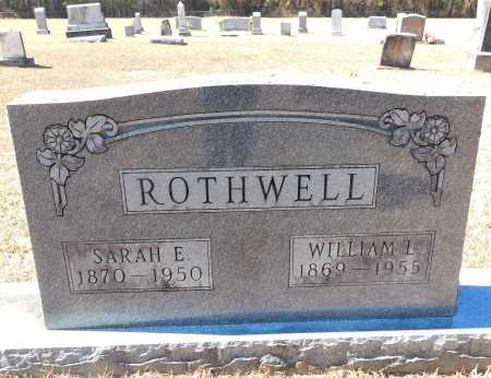 ROTHWELL, WILLIAM L - Calhoun County, Arkansas | WILLIAM L ROTHWELL - Arkansas Gravestone Photos