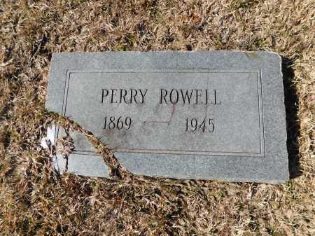 ROWELL, PERRY - Calhoun County, Arkansas | PERRY ROWELL - Arkansas Gravestone Photos