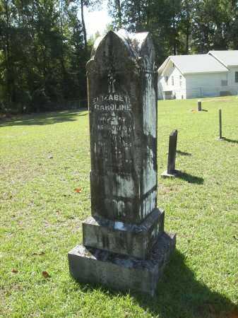 ROWLAND, ELIZABETH CAROLINE - Calhoun County, Arkansas | ELIZABETH CAROLINE ROWLAND - Arkansas Gravestone Photos