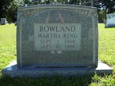ROWLAND, MARTHA - Calhoun County, Arkansas | MARTHA ROWLAND - Arkansas Gravestone Photos