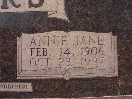 SANDERS, ANNIE JANE - Calhoun County, Arkansas | ANNIE JANE SANDERS - Arkansas Gravestone Photos