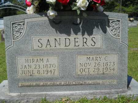 SANDERS, MARY C - Calhoun County, Arkansas | MARY C SANDERS - Arkansas Gravestone Photos