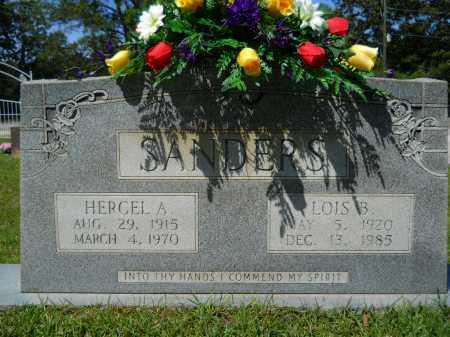 SANDERS, HERCEL A - Calhoun County, Arkansas | HERCEL A SANDERS - Arkansas Gravestone Photos