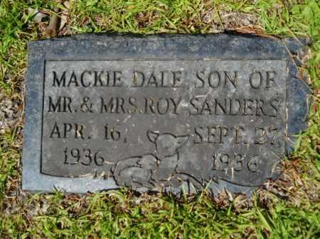 SANDERS, MACKIE DALE - Calhoun County, Arkansas | MACKIE DALE SANDERS - Arkansas Gravestone Photos