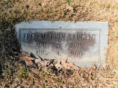 SARGENT, FRED MARVIN - Calhoun County, Arkansas | FRED MARVIN SARGENT - Arkansas Gravestone Photos