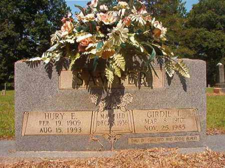 SAWYER, HURY E - Calhoun County, Arkansas | HURY E SAWYER - Arkansas Gravestone Photos