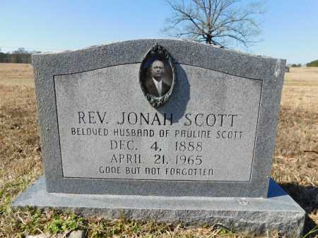 SCOTT, REV, JONAH - Calhoun County, Arkansas | JONAH SCOTT, REV - Arkansas Gravestone Photos