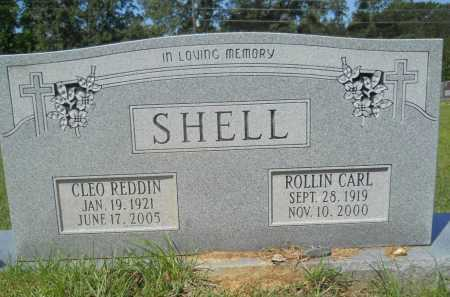 REDDIN SHELL, CLEO - Calhoun County, Arkansas | CLEO REDDIN SHELL - Arkansas Gravestone Photos