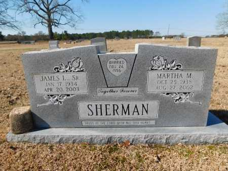 SHERMAN, MARTHA M - Calhoun County, Arkansas | MARTHA M SHERMAN - Arkansas Gravestone Photos