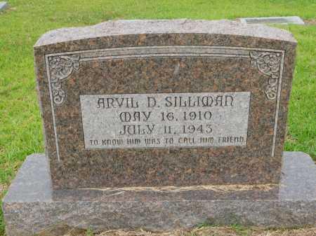 SILLIMAN, ARVIL D - Calhoun County, Arkansas | ARVIL D SILLIMAN - Arkansas Gravestone Photos