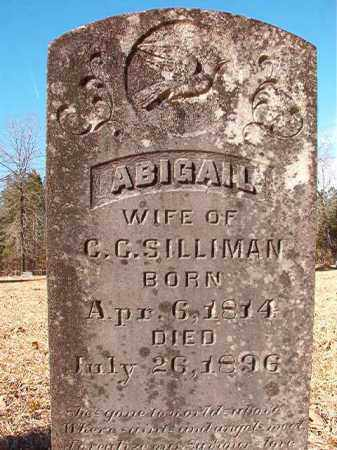 SILLIMAN, ABIGAIL - Calhoun County, Arkansas | ABIGAIL SILLIMAN - Arkansas Gravestone Photos