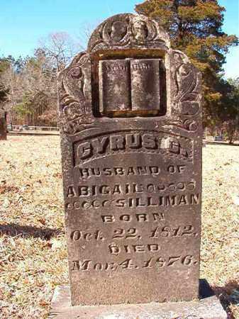 SILLIMAN, CYRUS C - Calhoun County, Arkansas | CYRUS C SILLIMAN - Arkansas Gravestone Photos