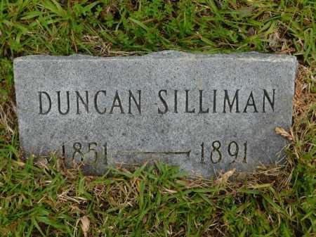 SILLIMAN, DUNCAN - Calhoun County, Arkansas | DUNCAN SILLIMAN - Arkansas Gravestone Photos