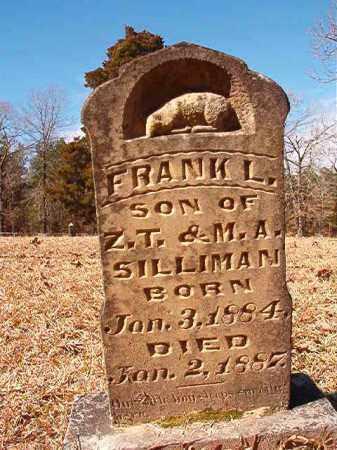 SILLIMAN, FRANK L - Calhoun County, Arkansas | FRANK L SILLIMAN - Arkansas Gravestone Photos