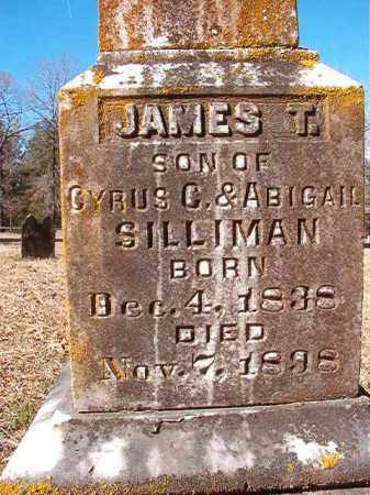SILLIMAN, JAMES T - Calhoun County, Arkansas | JAMES T SILLIMAN - Arkansas Gravestone Photos