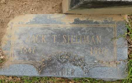 SILLIMAN, ZACK T - Calhoun County, Arkansas | ZACK T SILLIMAN - Arkansas Gravestone Photos