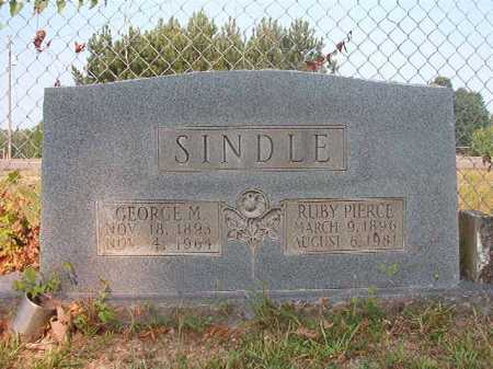 SINDLE, GEORGE M - Calhoun County, Arkansas | GEORGE M SINDLE - Arkansas Gravestone Photos