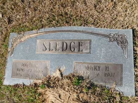 SLEDGE, ARTHUR - Calhoun County, Arkansas | ARTHUR SLEDGE - Arkansas Gravestone Photos