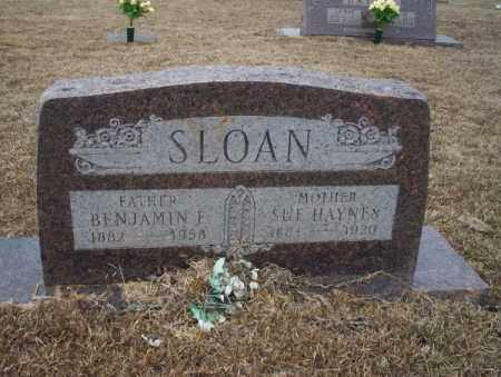 HAYNES SLOAN, SUE - Calhoun County, Arkansas | SUE HAYNES SLOAN - Arkansas Gravestone Photos