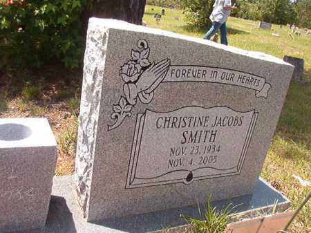 SMITH, CHRISTINE - Calhoun County, Arkansas | CHRISTINE SMITH - Arkansas Gravestone Photos