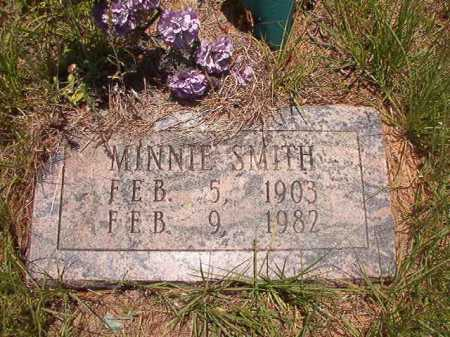 SMITH, MINNIE - Calhoun County, Arkansas | MINNIE SMITH - Arkansas Gravestone Photos