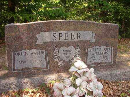 SPEER, BETTYE DOVE - Calhoun County, Arkansas | BETTYE DOVE SPEER - Arkansas Gravestone Photos