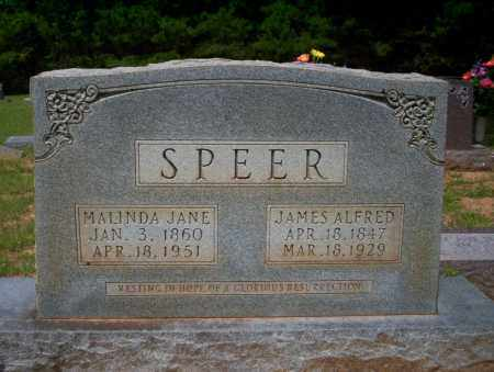 SPEER, JAMES ALFORD - Calhoun County, Arkansas | JAMES ALFORD SPEER - Arkansas Gravestone Photos