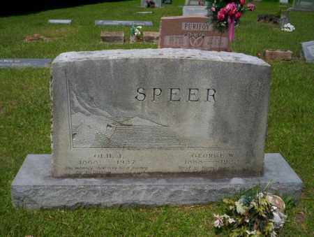 SPEER, GEORGE W - Calhoun County, Arkansas | GEORGE W SPEER - Arkansas Gravestone Photos