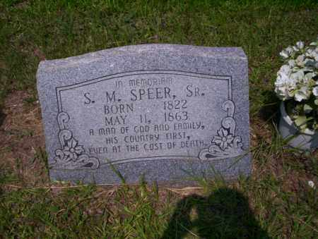SPEER SR., S.M. - Calhoun County, Arkansas | S.M. SPEER SR. - Arkansas Gravestone Photos