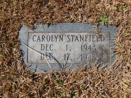 STANFIELD, CAROLYN - Calhoun County, Arkansas | CAROLYN STANFIELD - Arkansas Gravestone Photos