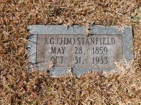 STANFIELD, J G (JIM) - Calhoun County, Arkansas | J G (JIM) STANFIELD - Arkansas Gravestone Photos