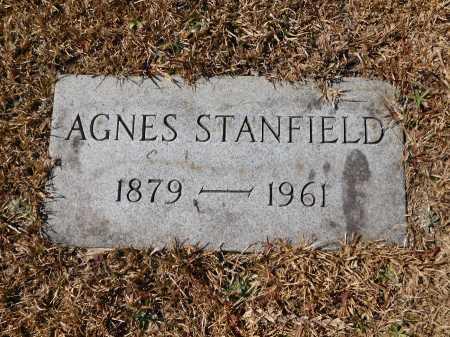 STANFIELD, AGNES - Calhoun County, Arkansas   AGNES STANFIELD - Arkansas Gravestone Photos