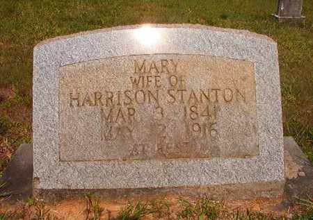STANTON, MARY - Calhoun County, Arkansas | MARY STANTON - Arkansas Gravestone Photos