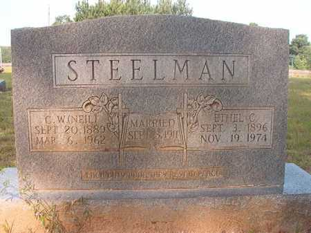STEELMAN, ETHEL C - Calhoun County, Arkansas | ETHEL C STEELMAN - Arkansas Gravestone Photos