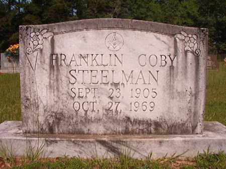 STEELMAN, FRANKLIN COBY - Calhoun County, Arkansas | FRANKLIN COBY STEELMAN - Arkansas Gravestone Photos