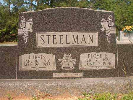 STEELMAN, J IRVIN - Calhoun County, Arkansas | J IRVIN STEELMAN - Arkansas Gravestone Photos