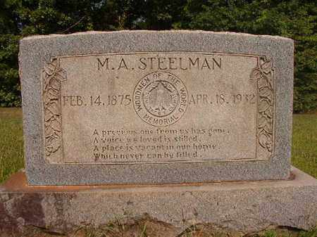 STEELMAN, M A - Calhoun County, Arkansas | M A STEELMAN - Arkansas Gravestone Photos