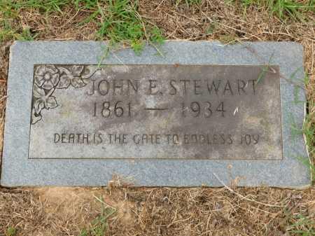 STEWART, JOHN E - Calhoun County, Arkansas | JOHN E STEWART - Arkansas Gravestone Photos