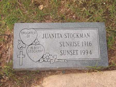 STOCKMAN, JUANITA - Calhoun County, Arkansas | JUANITA STOCKMAN - Arkansas Gravestone Photos