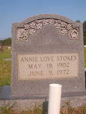 STOKES, ANNIE LOVE - Calhoun County, Arkansas | ANNIE LOVE STOKES - Arkansas Gravestone Photos
