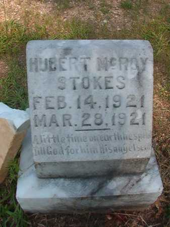 STOKES, HUBERT MCROY - Calhoun County, Arkansas | HUBERT MCROY STOKES - Arkansas Gravestone Photos
