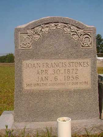 STOKES, JOAN FRANCIS - Calhoun County, Arkansas | JOAN FRANCIS STOKES - Arkansas Gravestone Photos