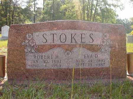 STOKES, EVA D - Calhoun County, Arkansas | EVA D STOKES - Arkansas Gravestone Photos